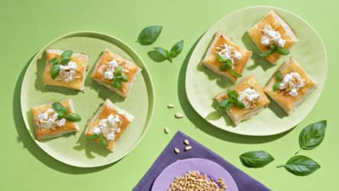 Hummus-fetatortut