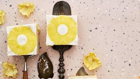 Ananas-rahkapalat