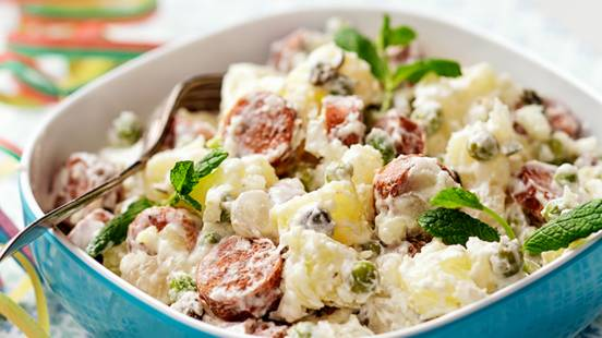 Lammasnakki-perunasalaatti