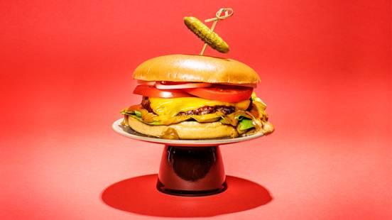 Rotukarjaburger kahvimajoneesilla