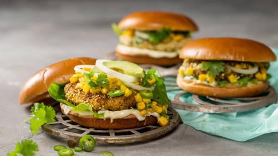 Hawaii Fried Chicken Burger