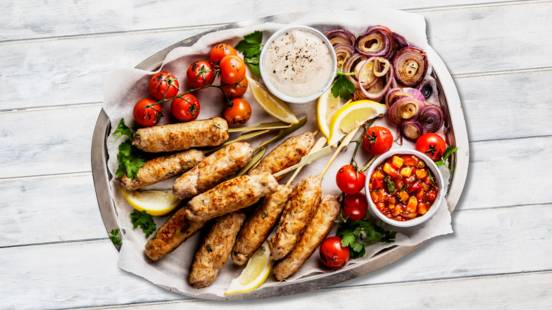 Turkkilaiset kebabvartaat