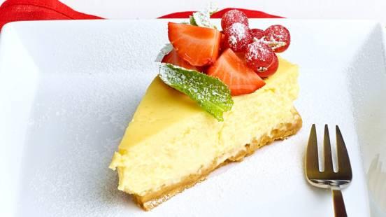 American cheesecake -juustokakku