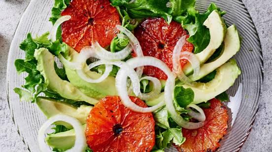 Paahdettu greippisalaatti
