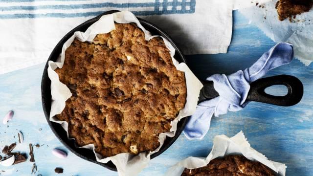Suklainen pannucookie