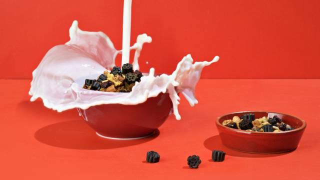 Lakritsainen granola