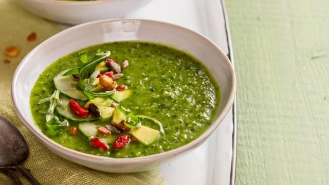 Vihreä gazpacho