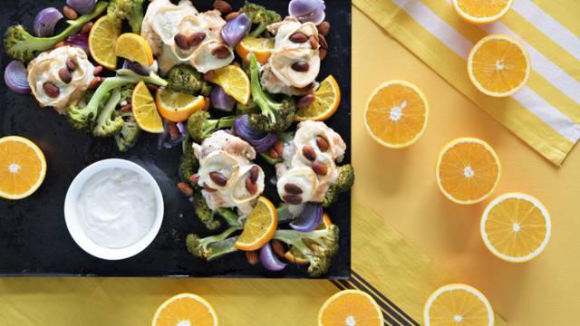 Appelsiini-broileripelti