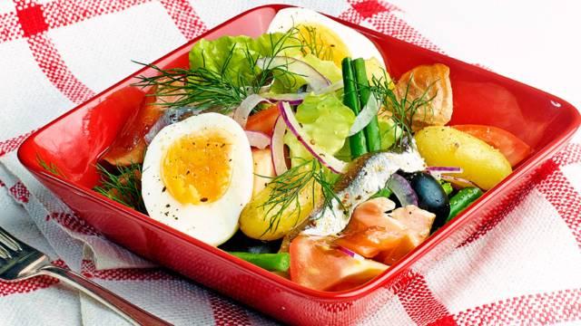 "Salad ""Finoise"""
