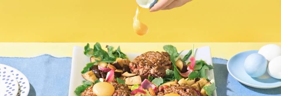 Tartar salaattipedillä