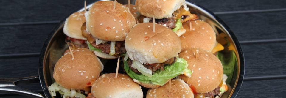 Miniburgerit lapsille