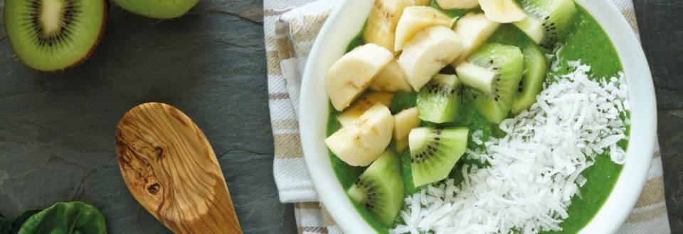 Vihreä smoothiekulho
