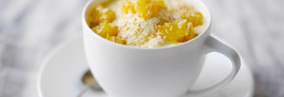 Ananas-kookosjäätelö